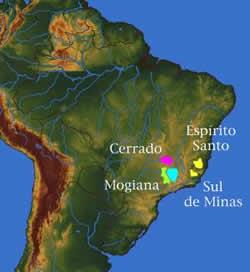 Brazil Growing Regions