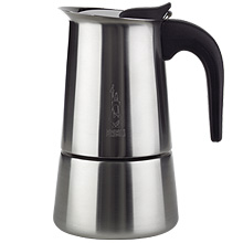 Bialetti Stainless Stove top Espresso Maker