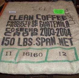 Guatemala Green Coffee Bag