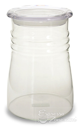 Clear Coffee Canister