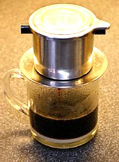 Vietnamese Coffee Brewer